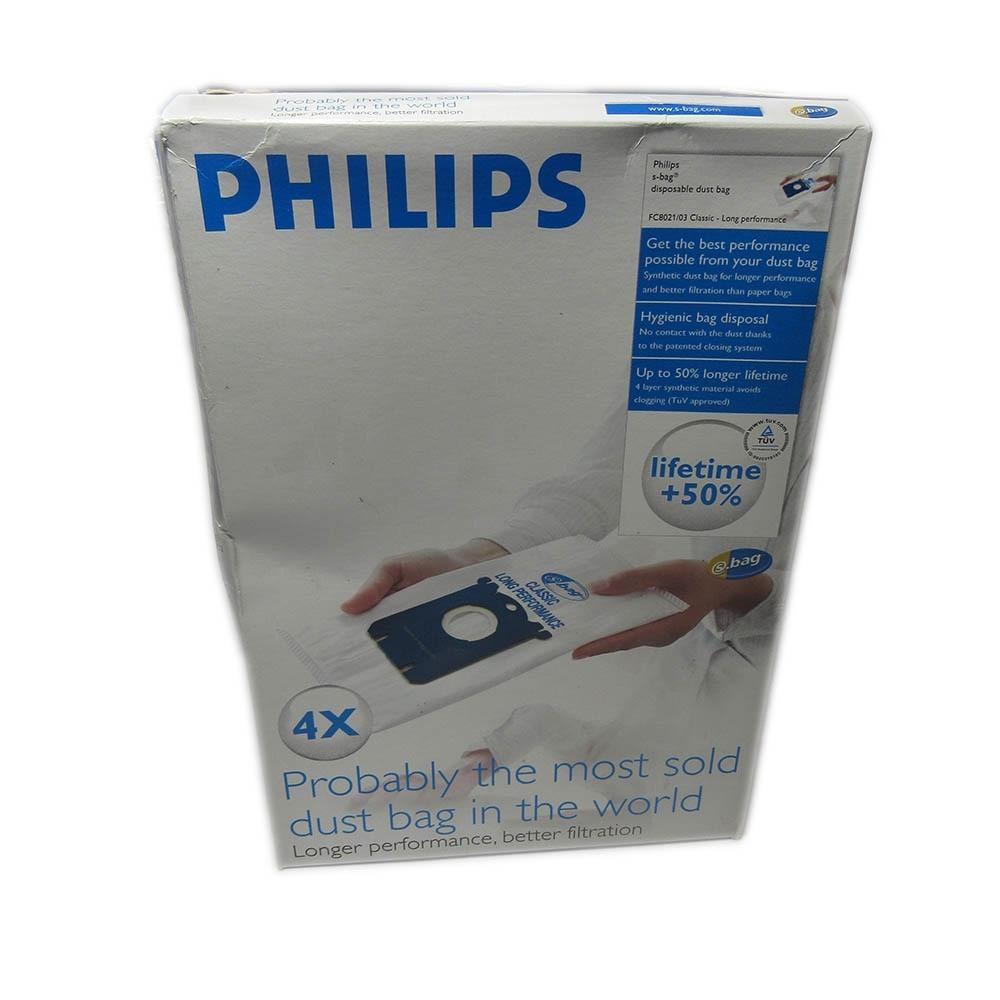 Philips FC8021 4 Sacchetti Universali per Aspirapolveri
