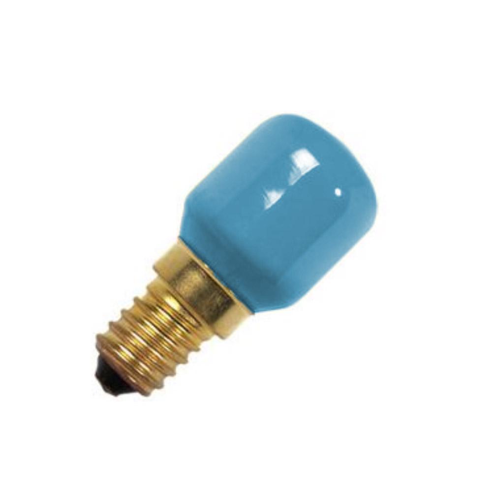 Lampadina piccola pera peretta E14 240V 13W 3 C blu Sylvania